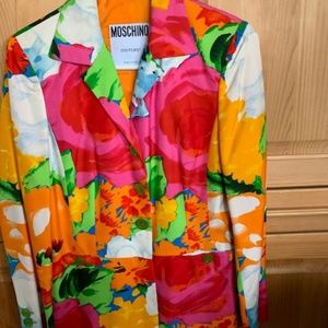 Beautiful Moschino Couture Colorful Jacket SZ S